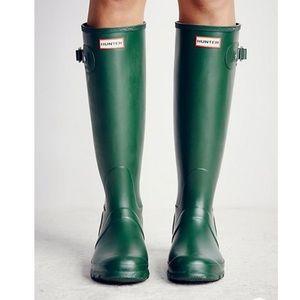 Hunter- Original Tall Boots Green